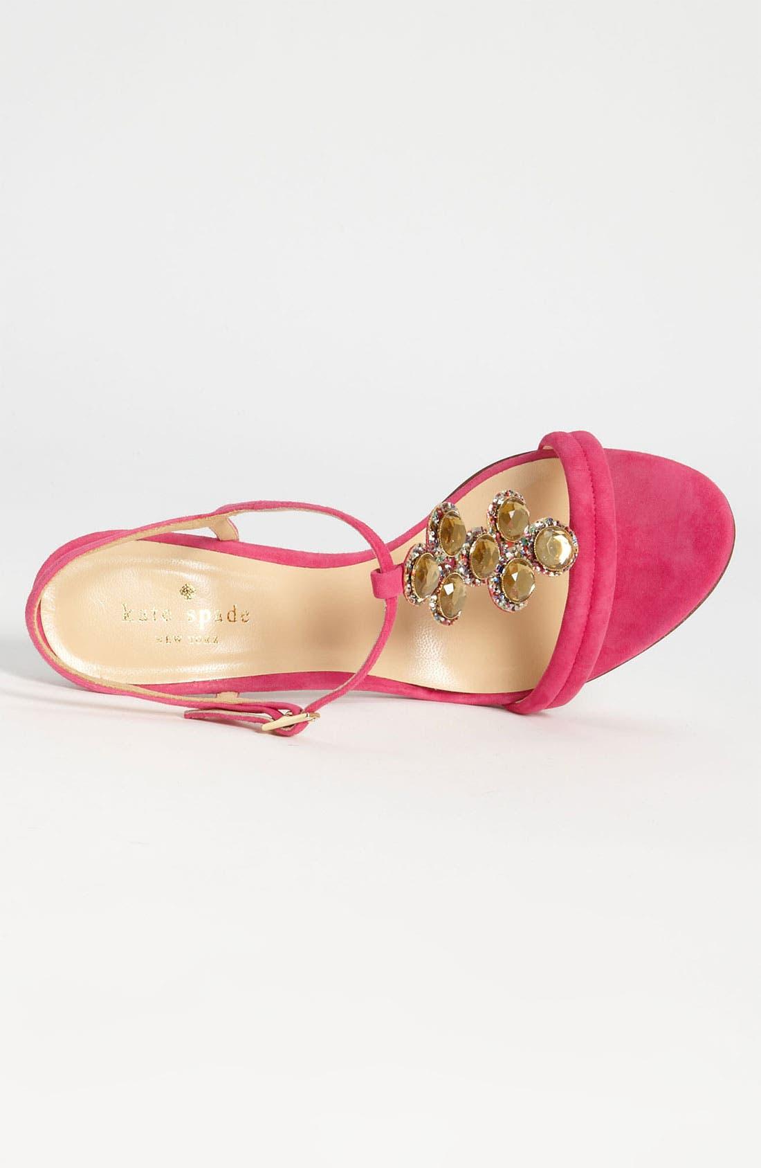 Alternate Image 3  - kate spade new york 'velvet' sandal