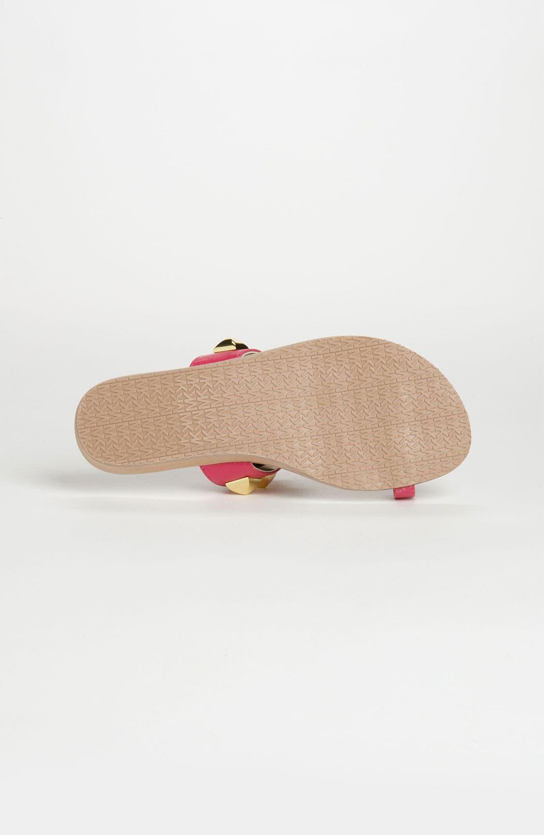 Alternate Image 4  - MICHAEL Michael Kors 'Zen' Sandal (Little Kid & Big Kid)