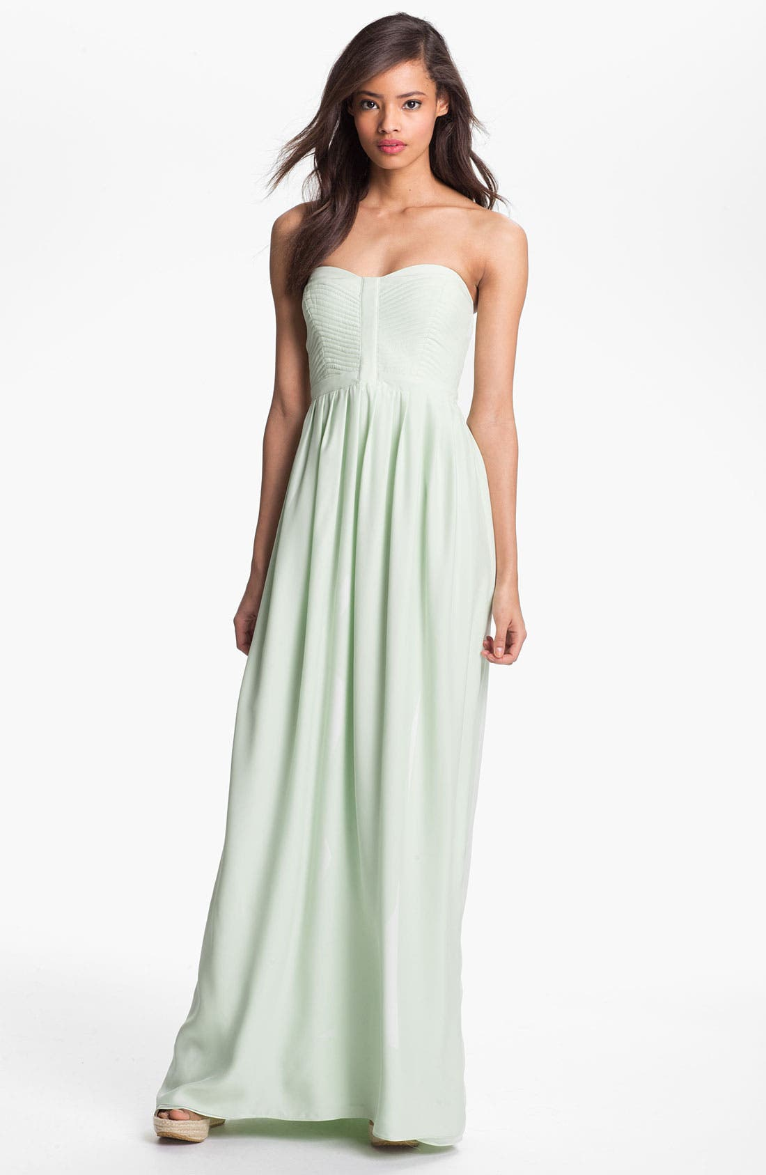 Main Image - Parker 'Bayou' Silk Maxi Dress