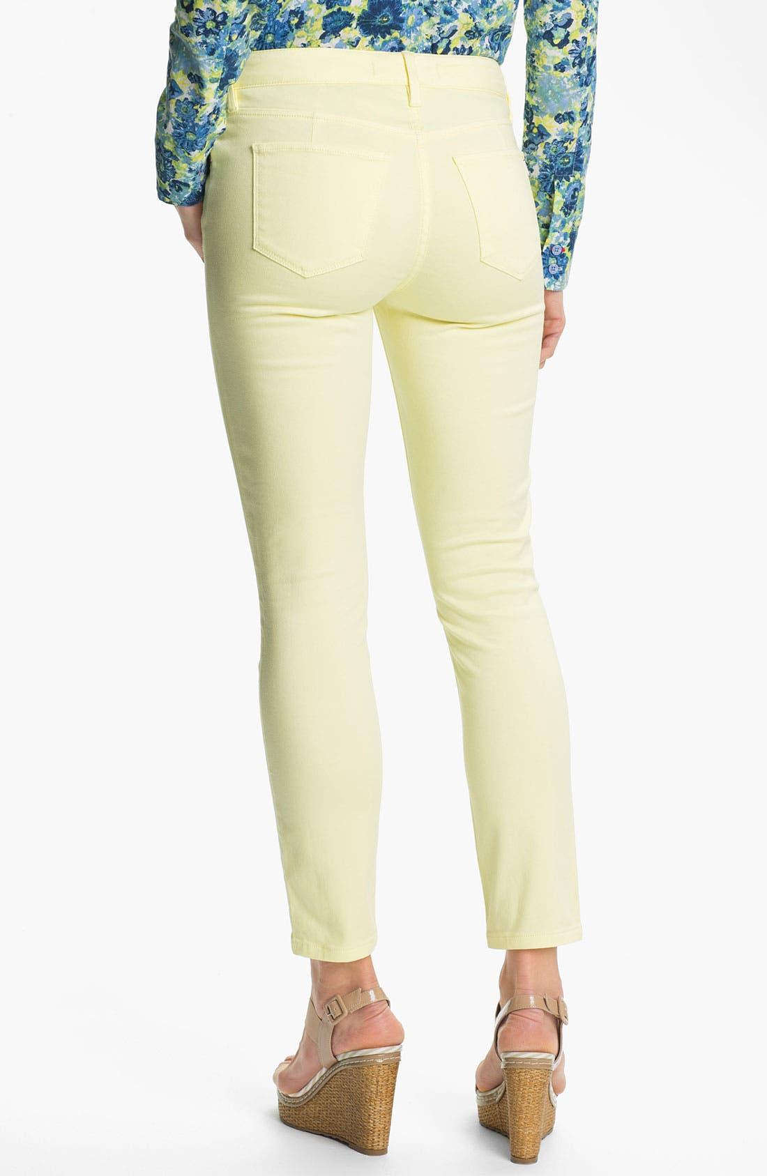 Alternate Image 2  - Isaac Mizrahi Jeans Colored Skinny Jeans