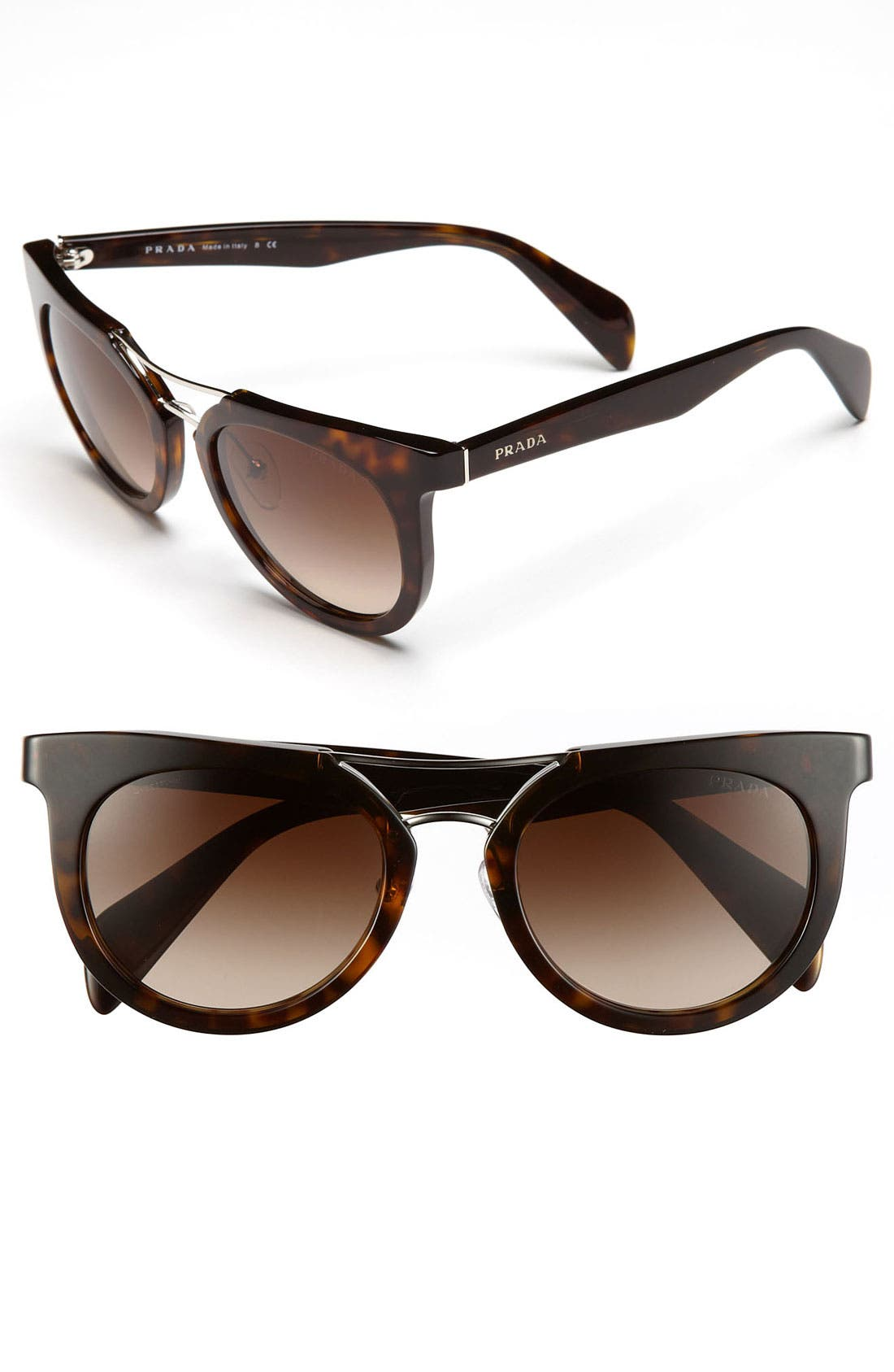 Alternate Image 1 Selected - Prada 'Timeless' 51mm Sunglasses