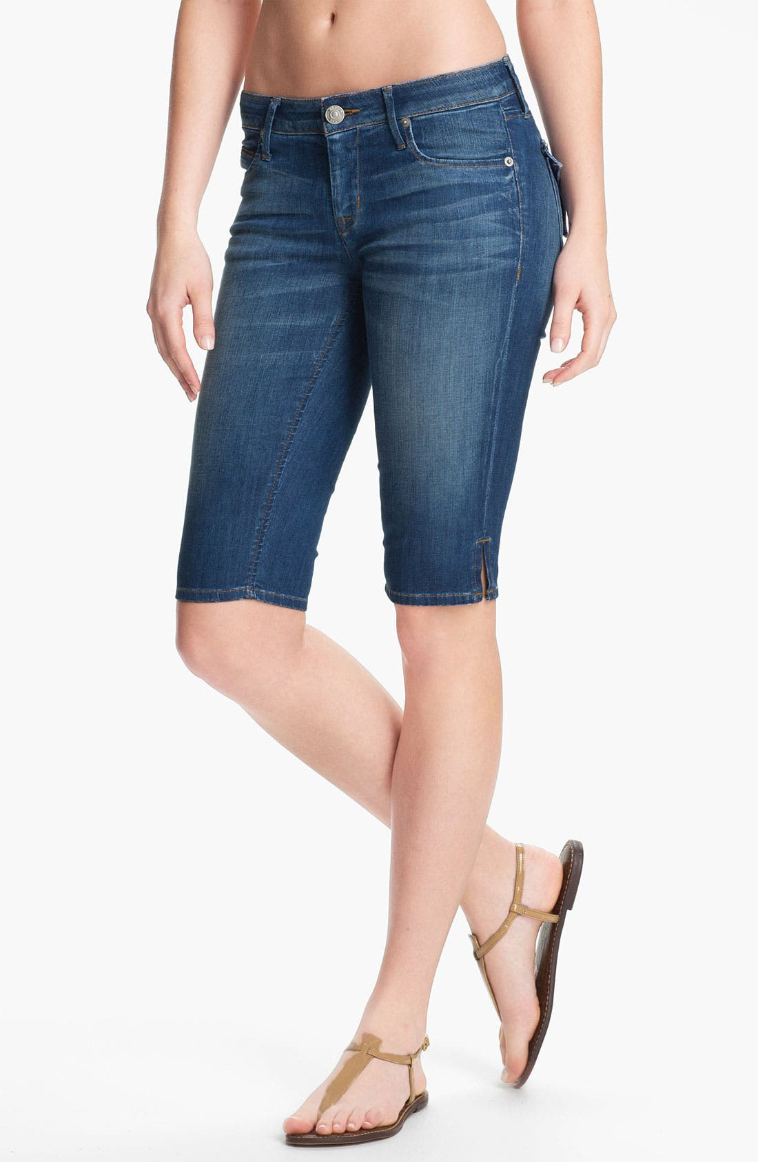 Alternate Image 1 Selected - Hudson Jeans 'Viceroy' Stretch Denim Bermuda Shorts (Morrissey)