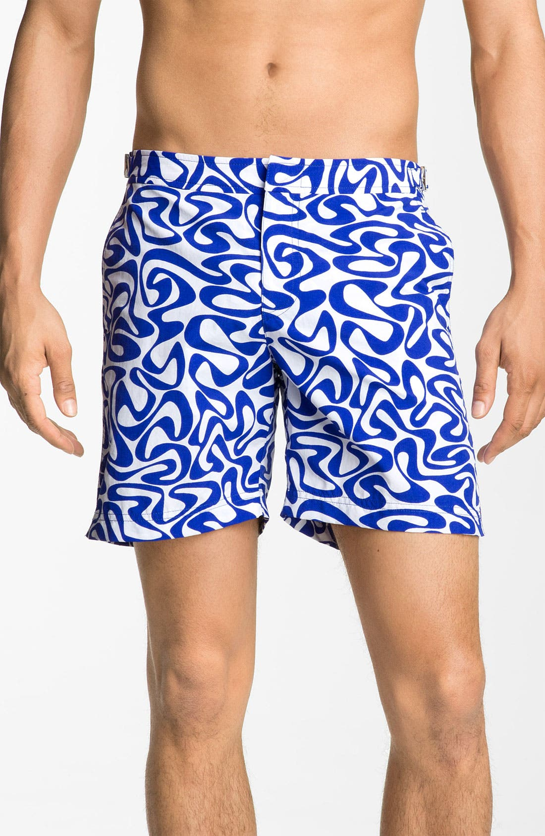 Main Image - Orlebar Brown 'Bulldog' Print Swim Trunks