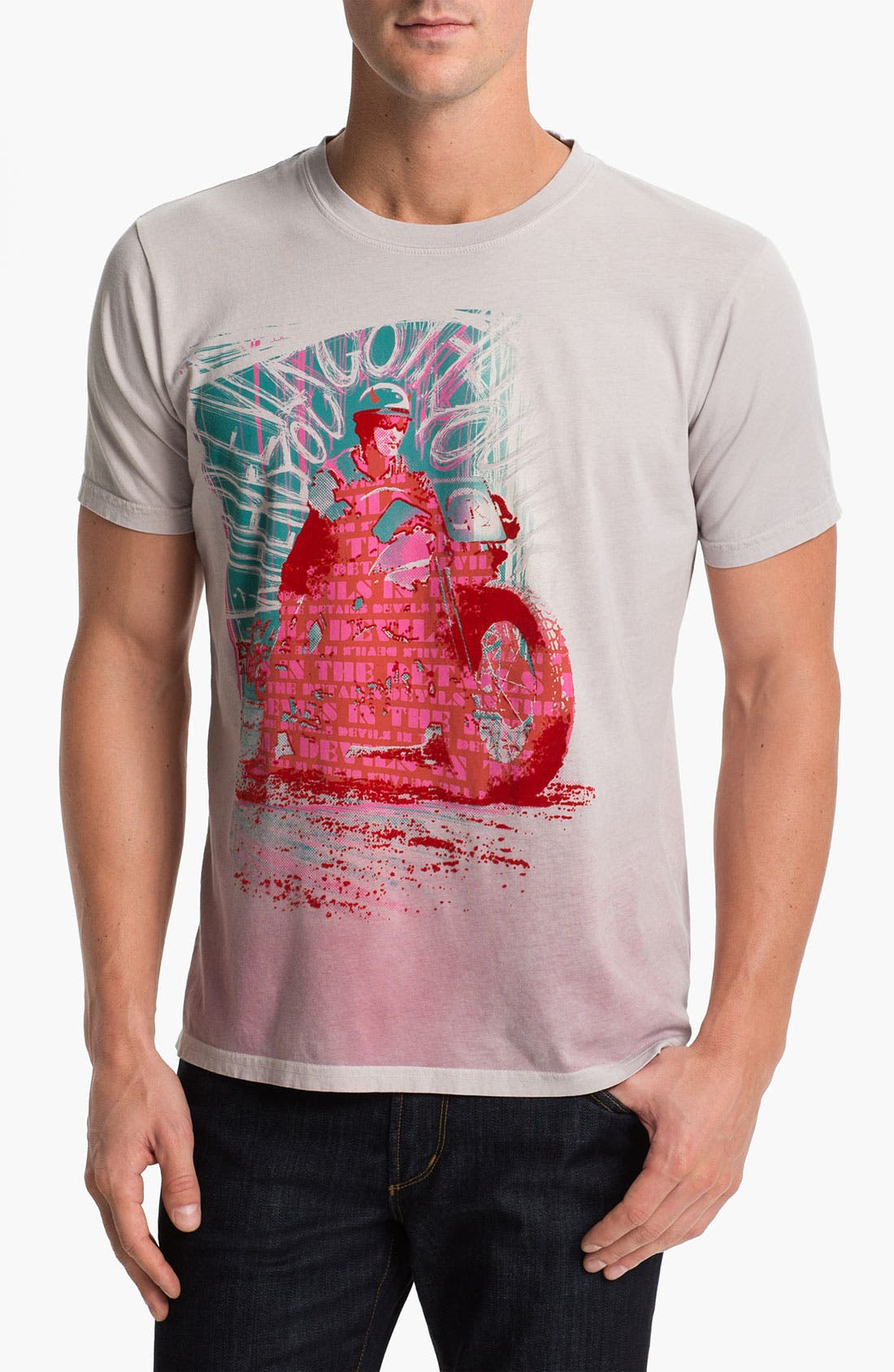 Alternate Image 1 Selected - Robert Graham 'Details' T-Shirt