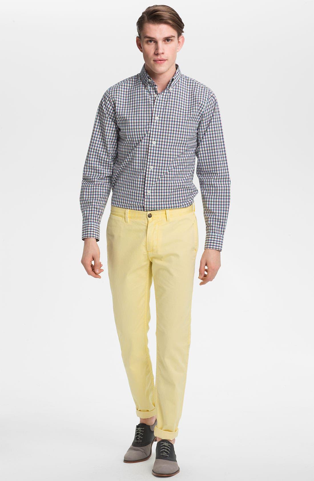Alternate Image 4  - Jack Spade 'Barbary' Plaid Woven Shirt
