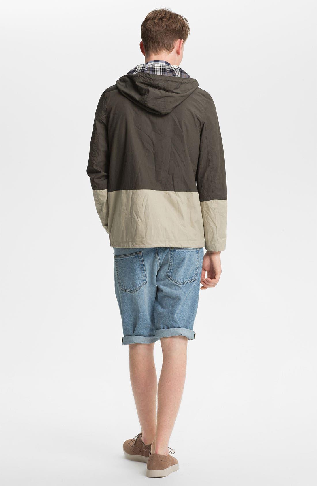 Alternate Image 3  - Topman Skinny Fit Denim Shorts