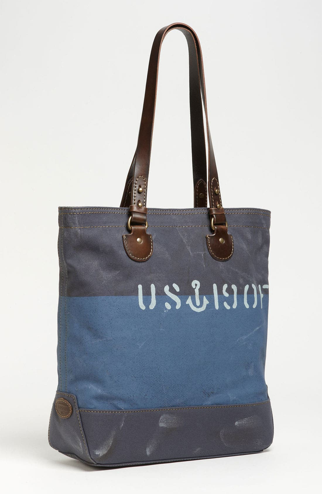 Main Image - Fossil 'Vintage Archive' Canvas Tote