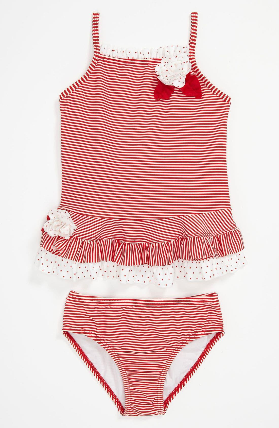 Main Image - Kate Mack Two Piece Swimsuit (Toddler)
