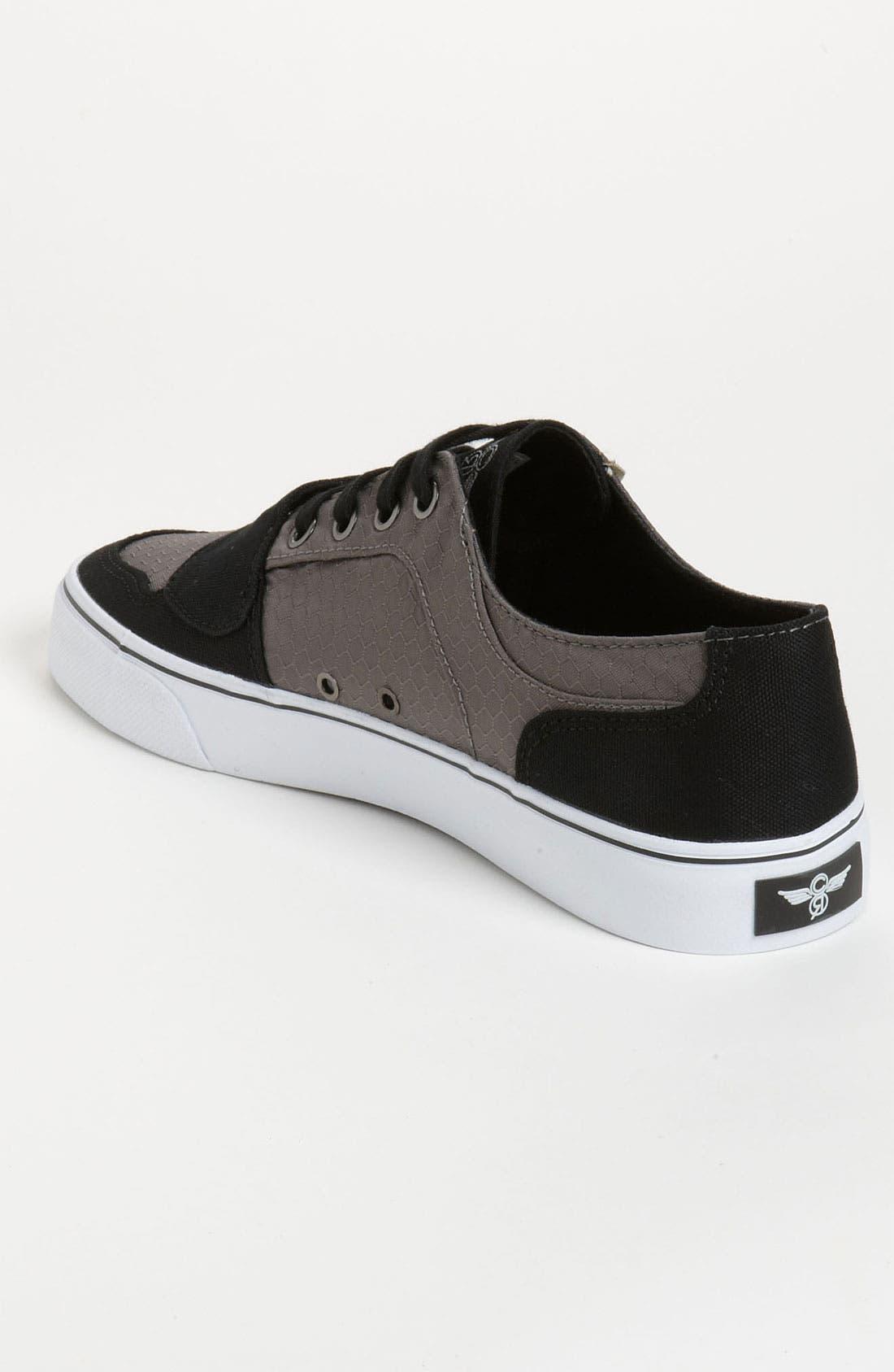 'Cesario Lo VXI' Sneaker,                             Alternate thumbnail 2, color,                             Gunmetal Hexagon