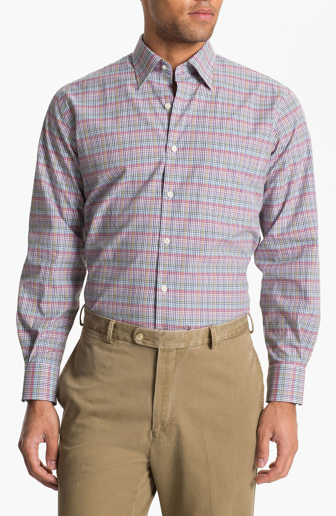 Alternate Image 1 Selected - Peter Millar 'Cypress' Regular Fit Sport Shirt