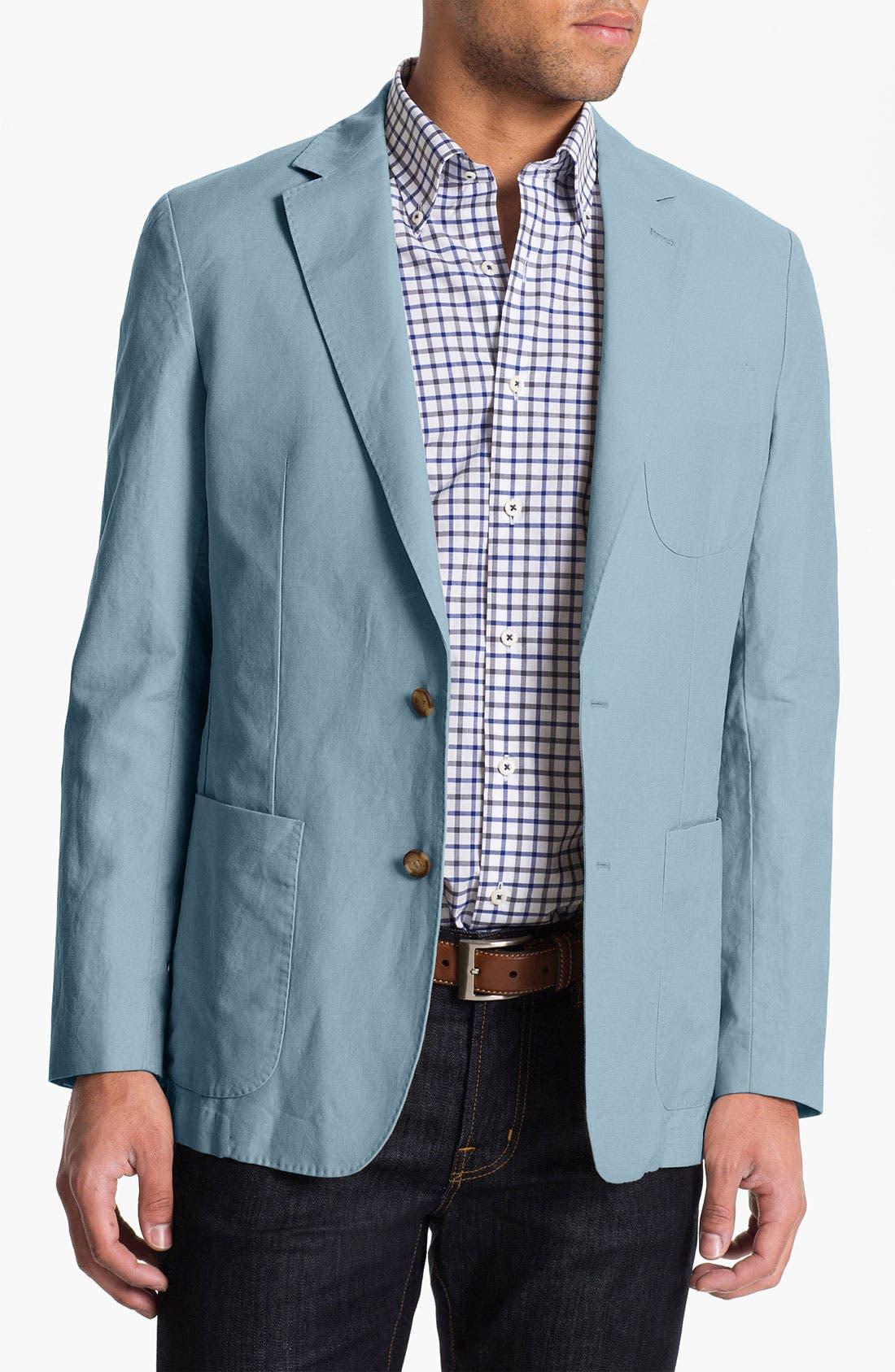 Alternate Image 1 Selected - Peter Millar Linen Blend Sportcoat