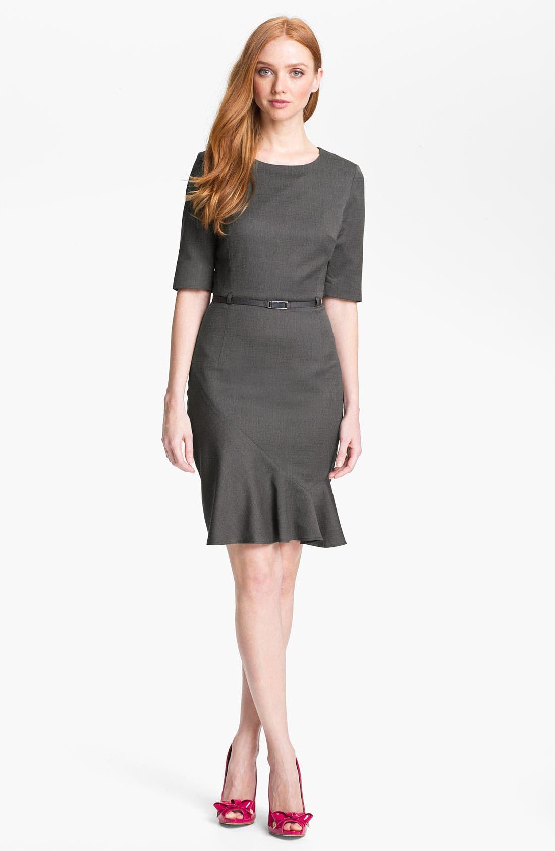 Alternate Image 1 Selected - Ted Baker London 'Tonic' Stretch Sheath Dress