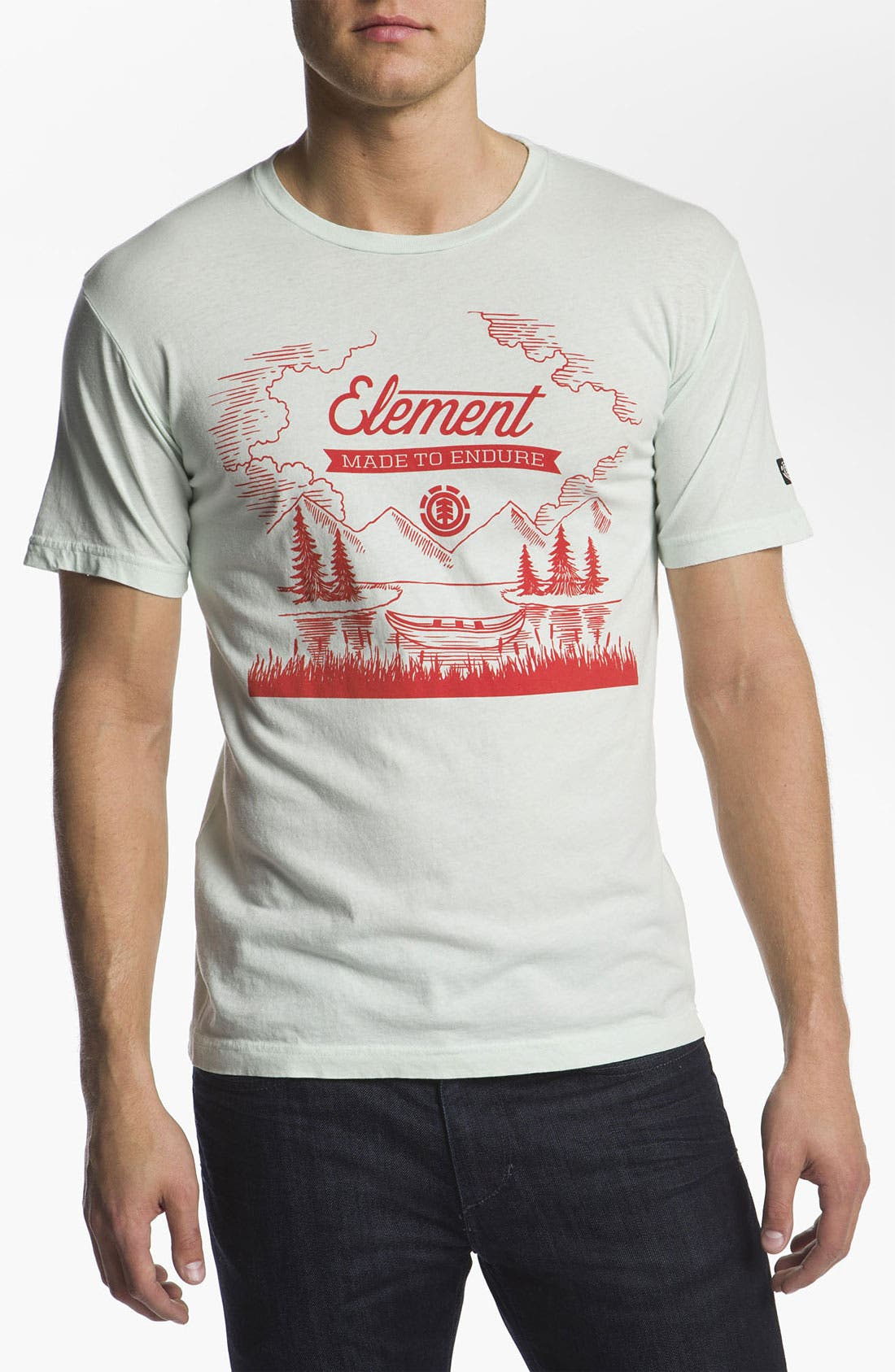 Alternate Image 1 Selected - Element 'Shoreline' T-Shirt