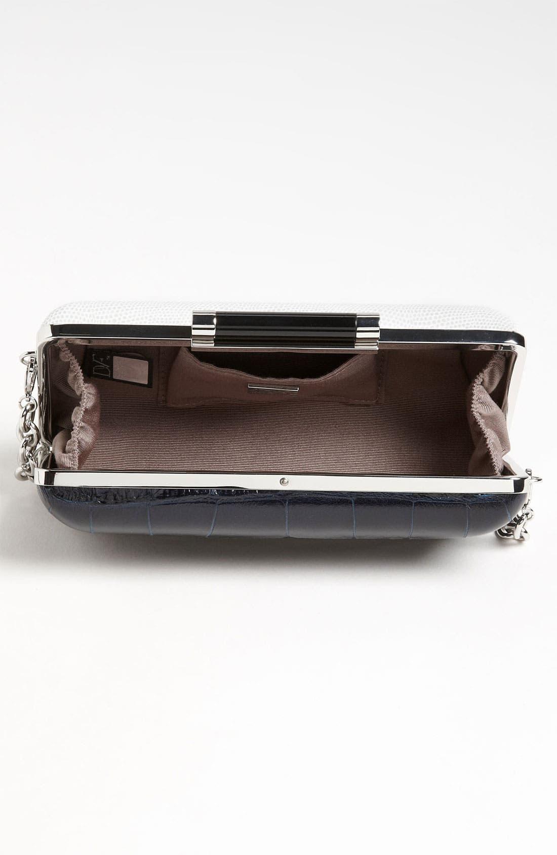Alternate Image 3  - Diane von Furstenberg 'Tonda' Embossed Clutch