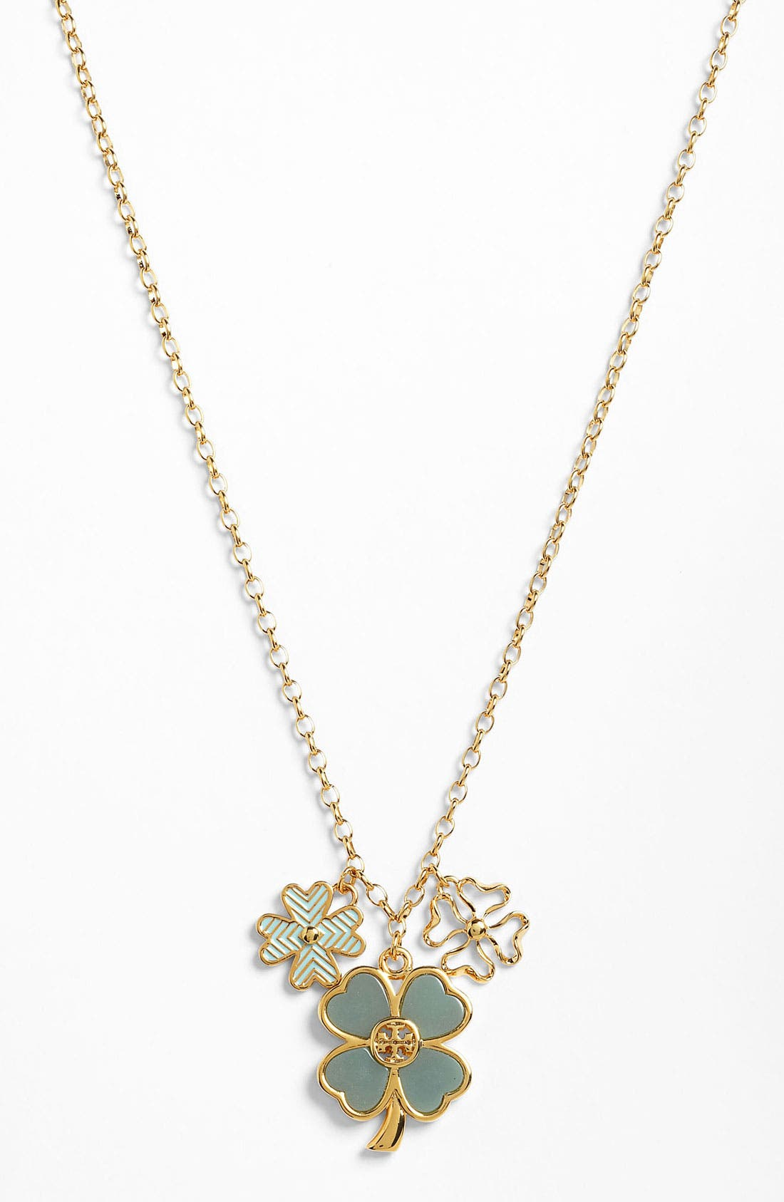 Main Image - Tory Burch 'Shawn' Long Pendant Necklace