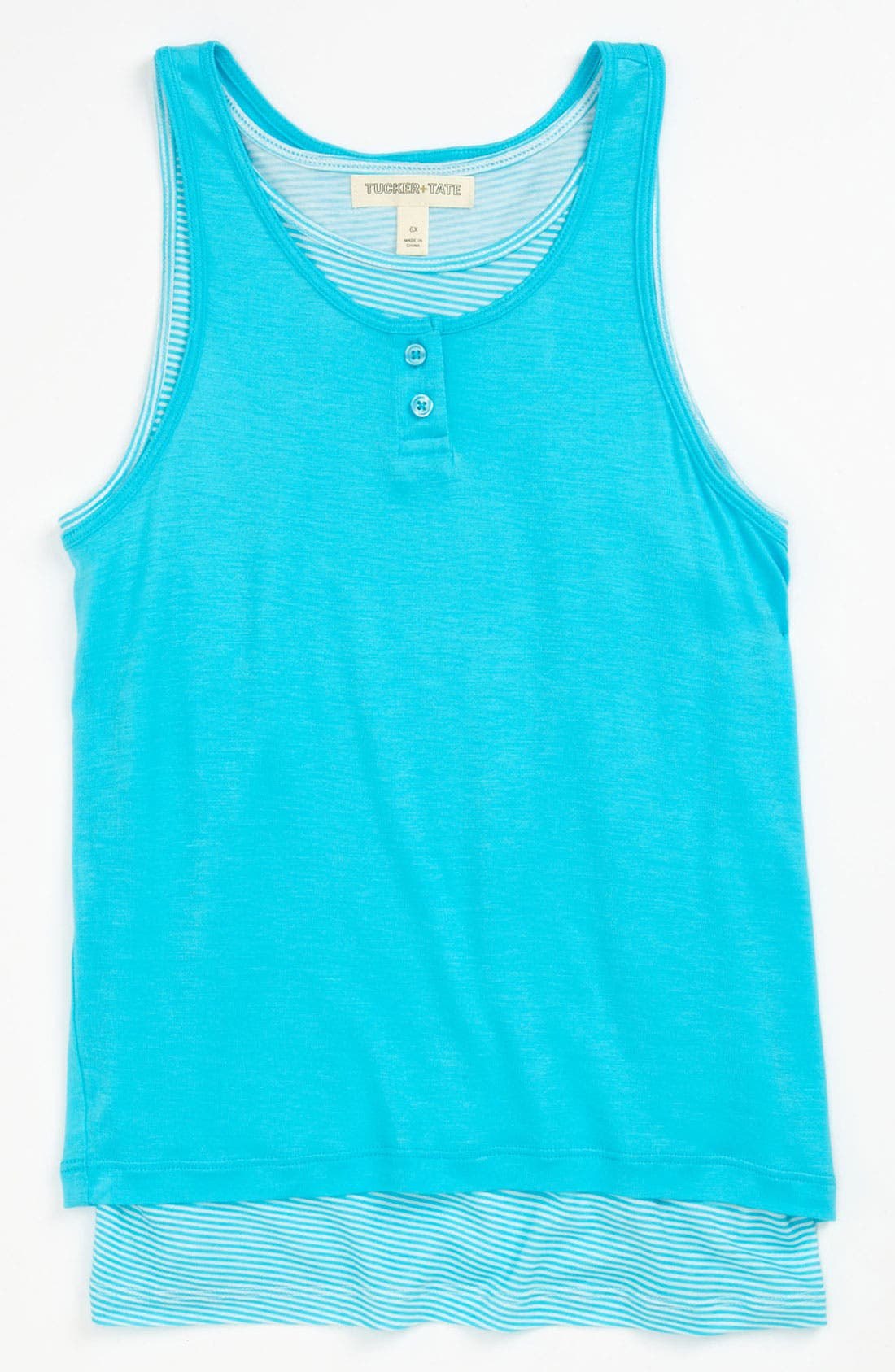 Alternate Image 1 Selected - Tucker + Tate 'Piper' Tank Top (Little Girls)