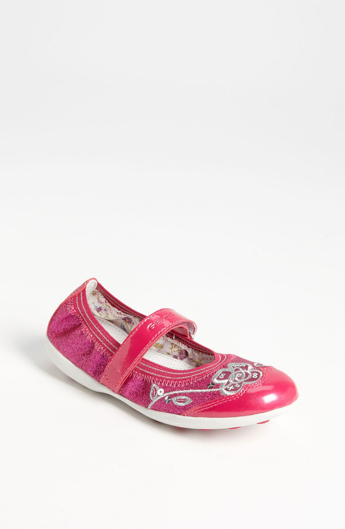 Alternate Image 1 Selected - Geox Junior 'Jodie' Mary Jane Sneaker (Toddler & Little Kid)