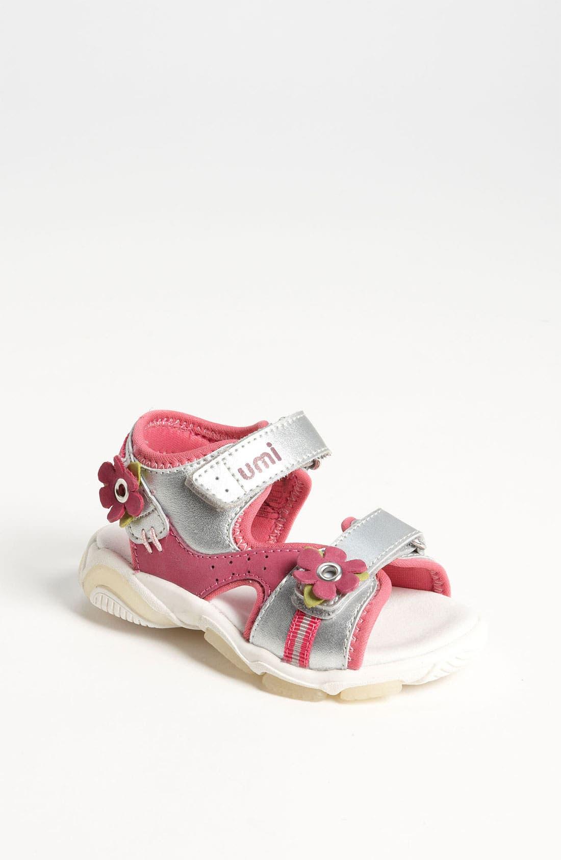 Alternate Image 1 Selected - Umi 'Karolina' Sandal (Toddler, Little Kid & Big Kid)