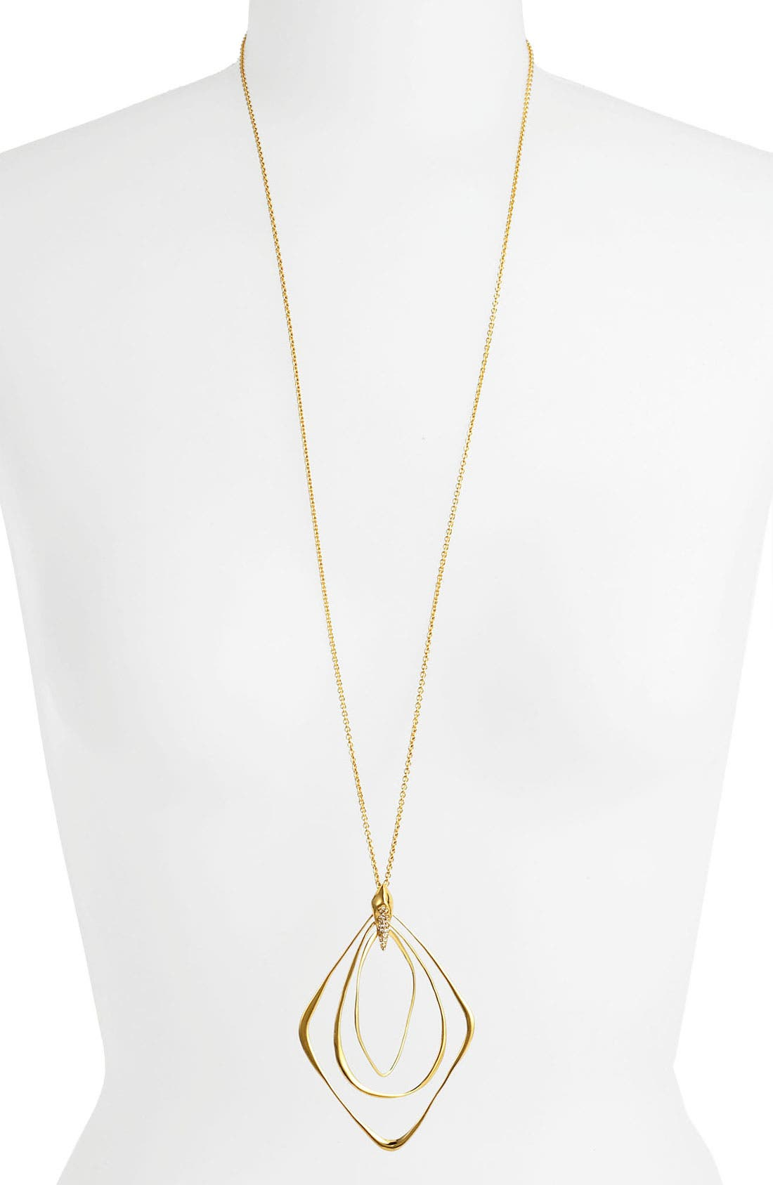 Main Image - Alexis Bittar 'Miss Havisham - Liquid Gold' Long Pendant Necklace