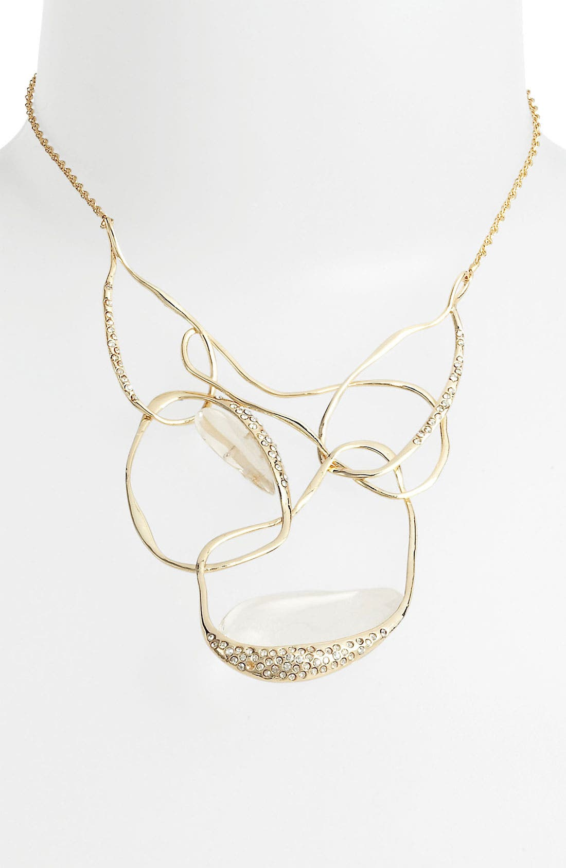 Alternate Image 1 Selected - Alexis Bittar 'Lucite® - Ophelia' Vine Bib Necklace