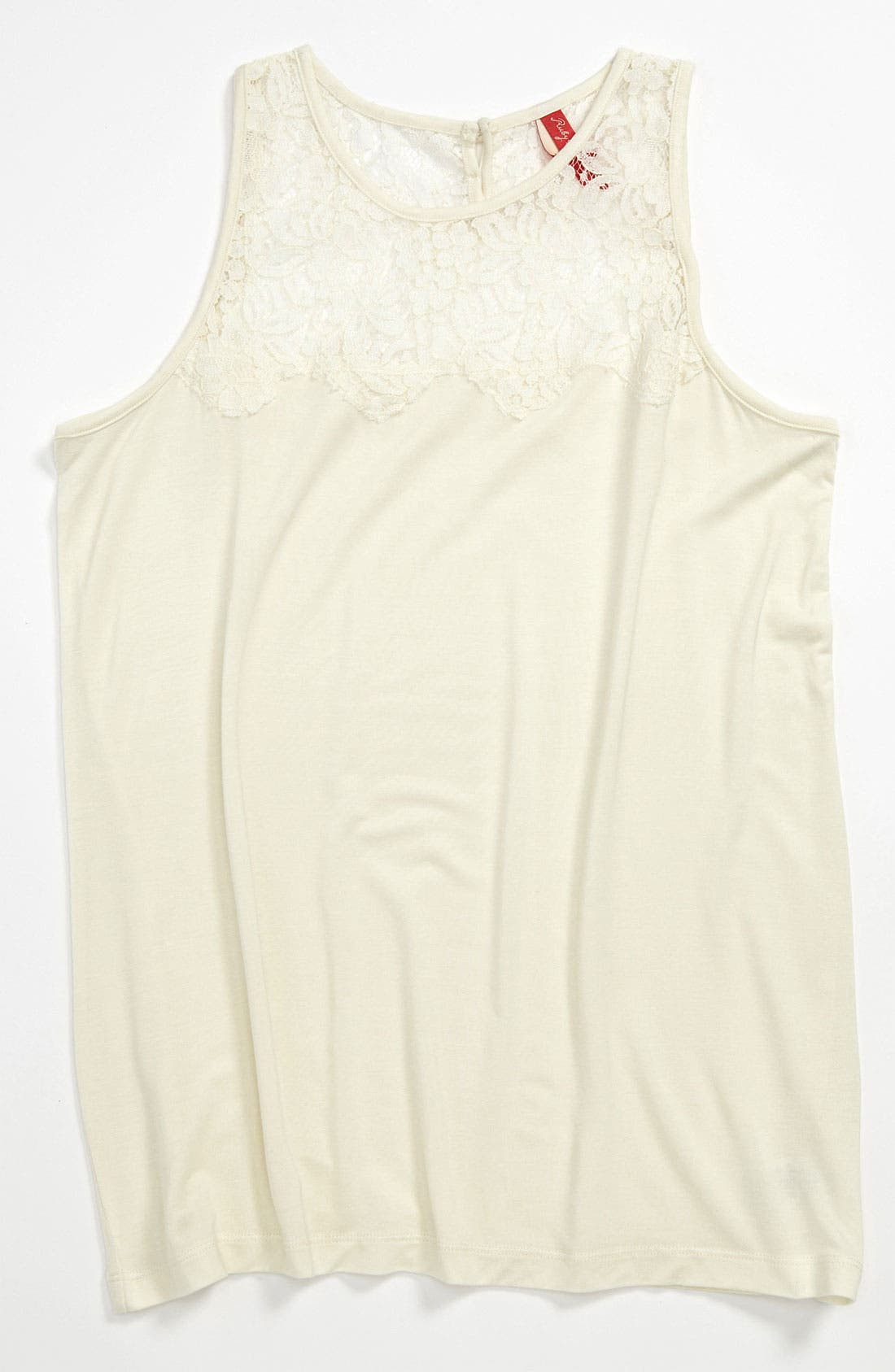 Main Image - Ruby & Bloom 'Genevieve' Tank Top (Big Girls)