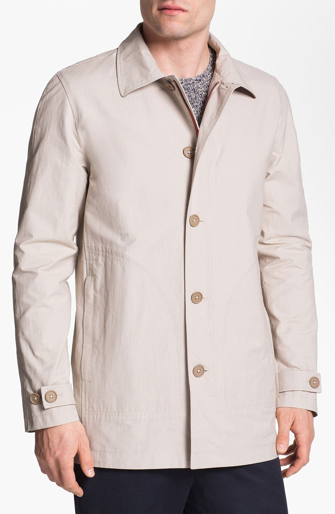 Alternate Image 1 Selected - Façonnable Cotton Blend Jacket