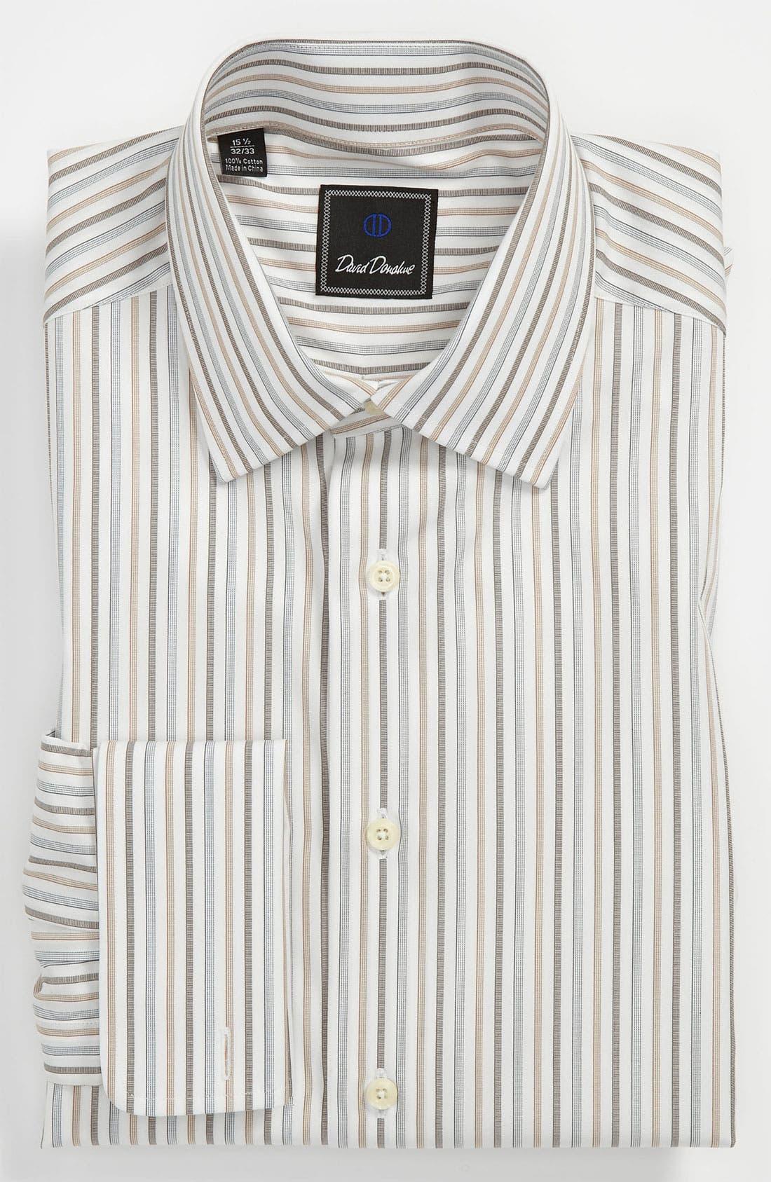 Alternate Image 1 Selected - David Donahue Regular Fit Dress Shirt