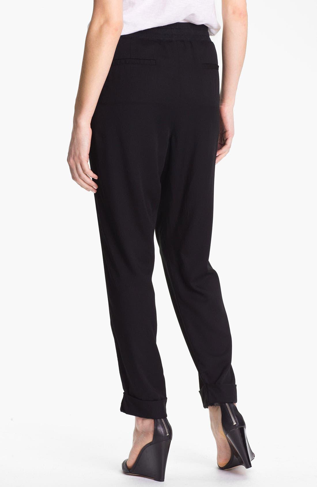 Alternate Image 2  - Caslon Drawstring Twill Pants