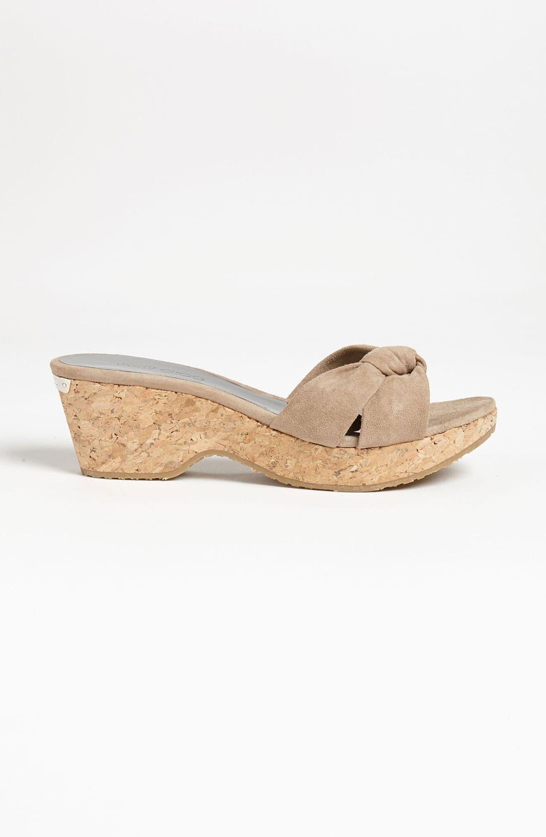 Alternate Image 4  - Jimmy Choo 'Glace' Slide Sandal