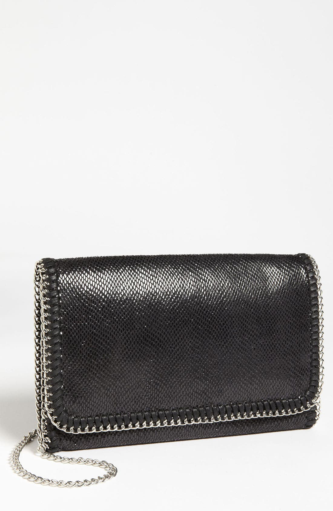 Alternate Image 1 Selected - Tarnish 'Lizard Chain' Clutch