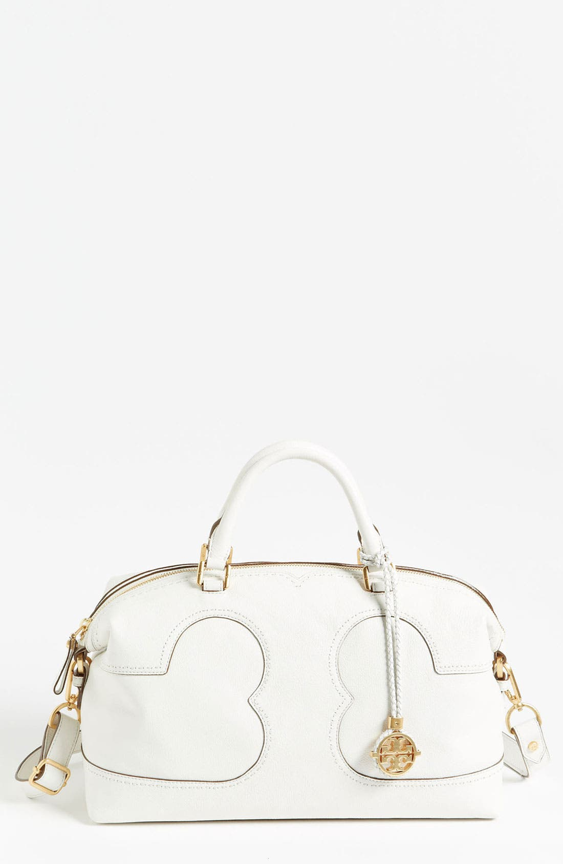 Main Image - Tory Burch 'Amalie' Leather Satchel
