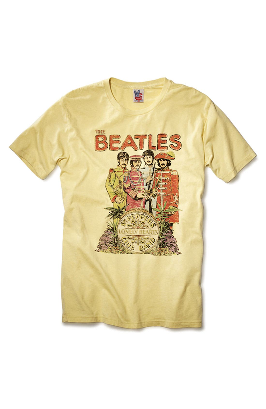 Alternate Image 4  - Junk Food 'The Beatles' Graphic T-shirt