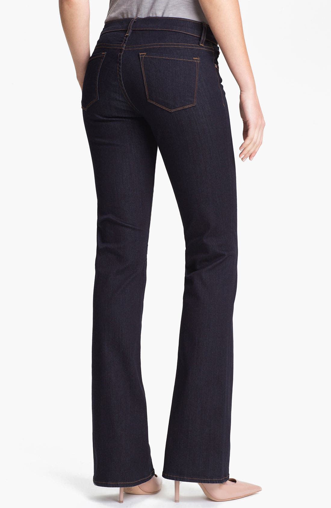 Alternate Image 2  - J Brand Slim Bootcut Stretch Jeans (Starless Wash)