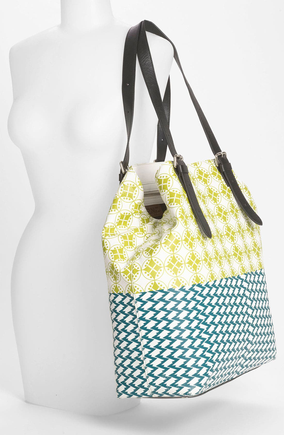 Alternate Image 2  - Yarnz 'Bows & Arrows' Leather Tote