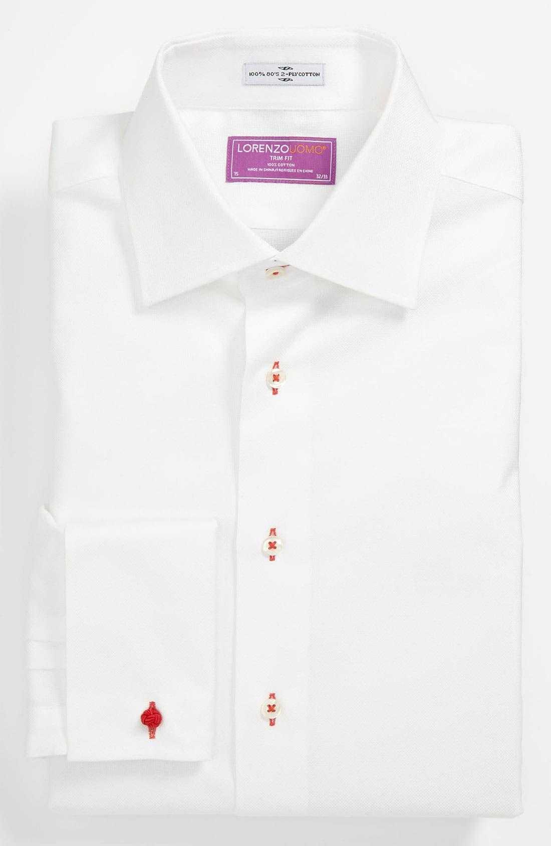 Main Image - Lorenzo Uomo Trim Fit Dress Shirt