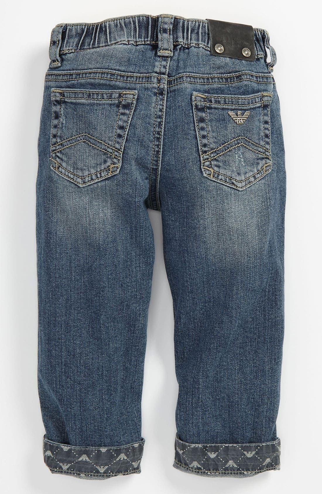 Alternate Image 1 Selected - Armani Junior Jeans (Baby)