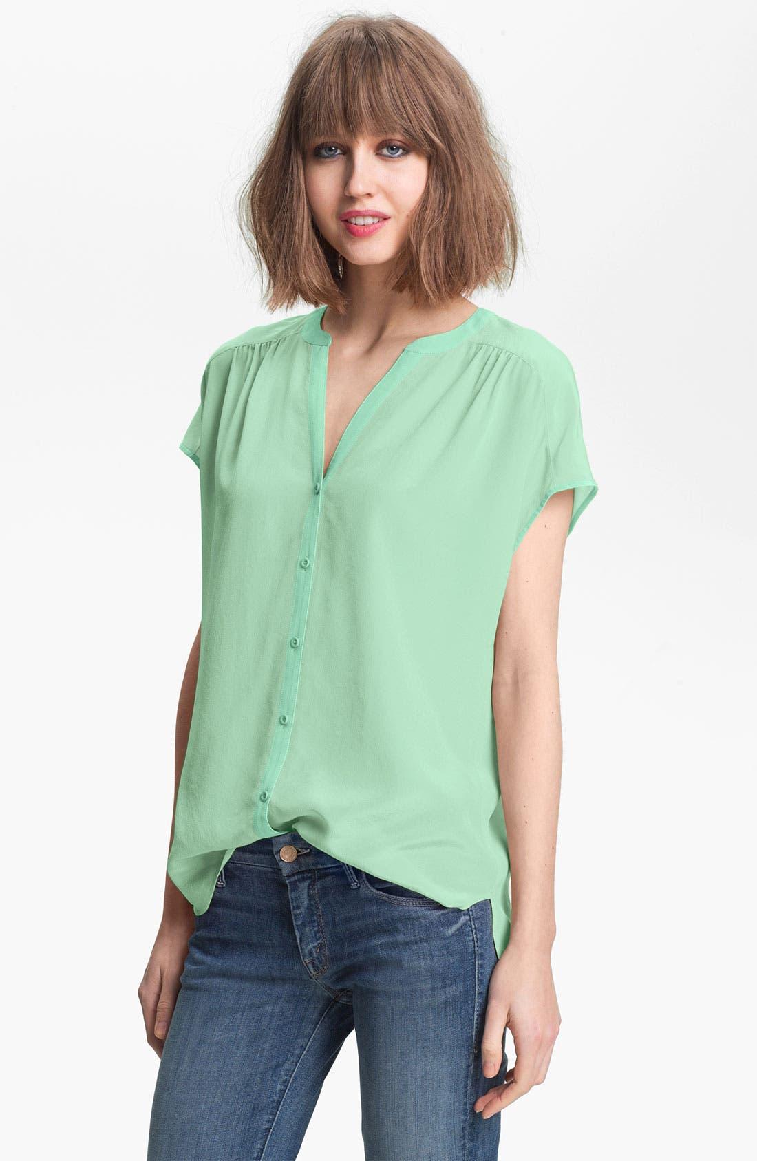 Alternate Image 1 Selected - Hinge® Silk Blouse