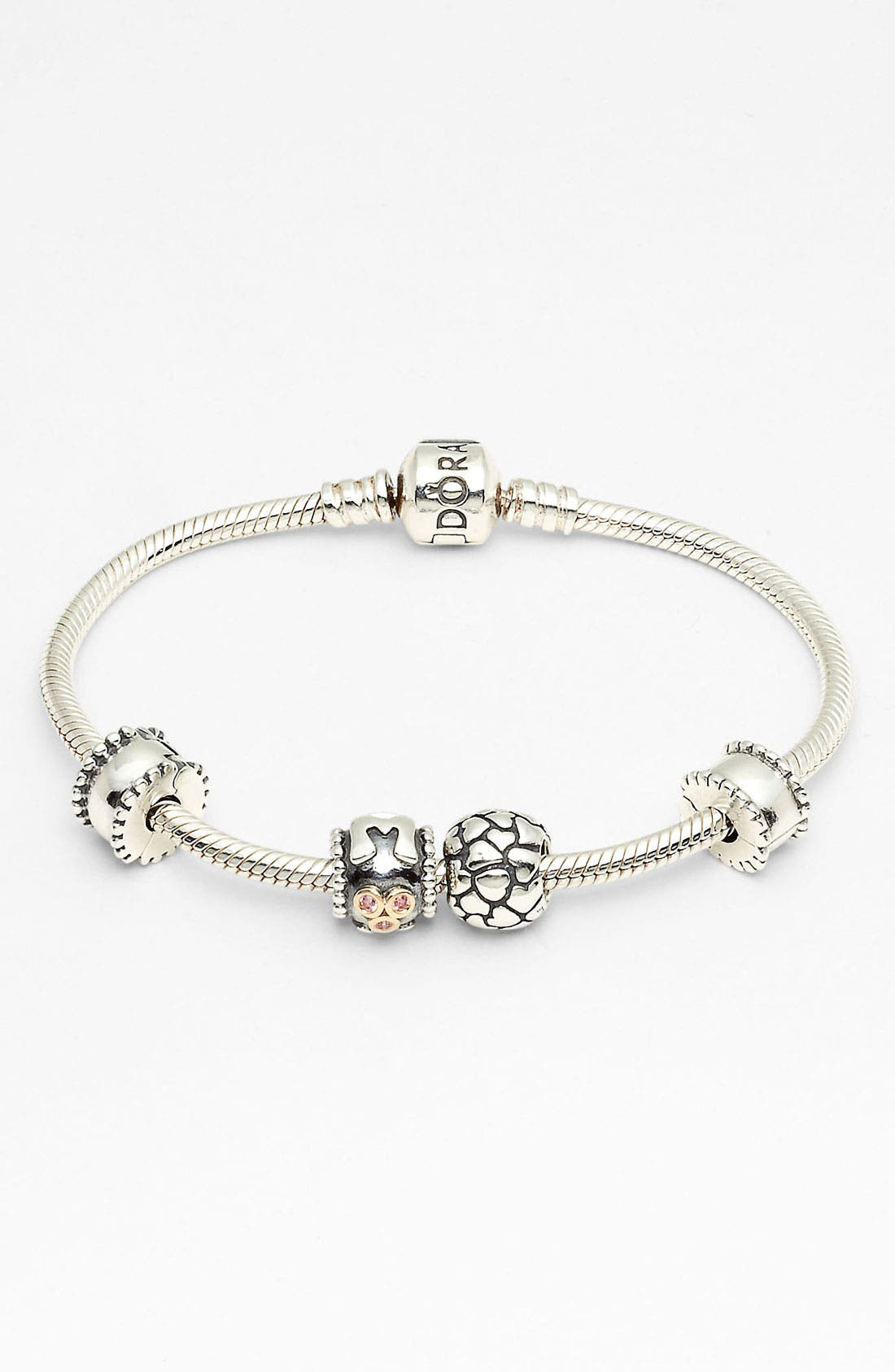 Alternate Image 1 Selected - PANDORA 'Moments' Mother's Day Bracelet Gift Set (Nordstrom Exclusive)