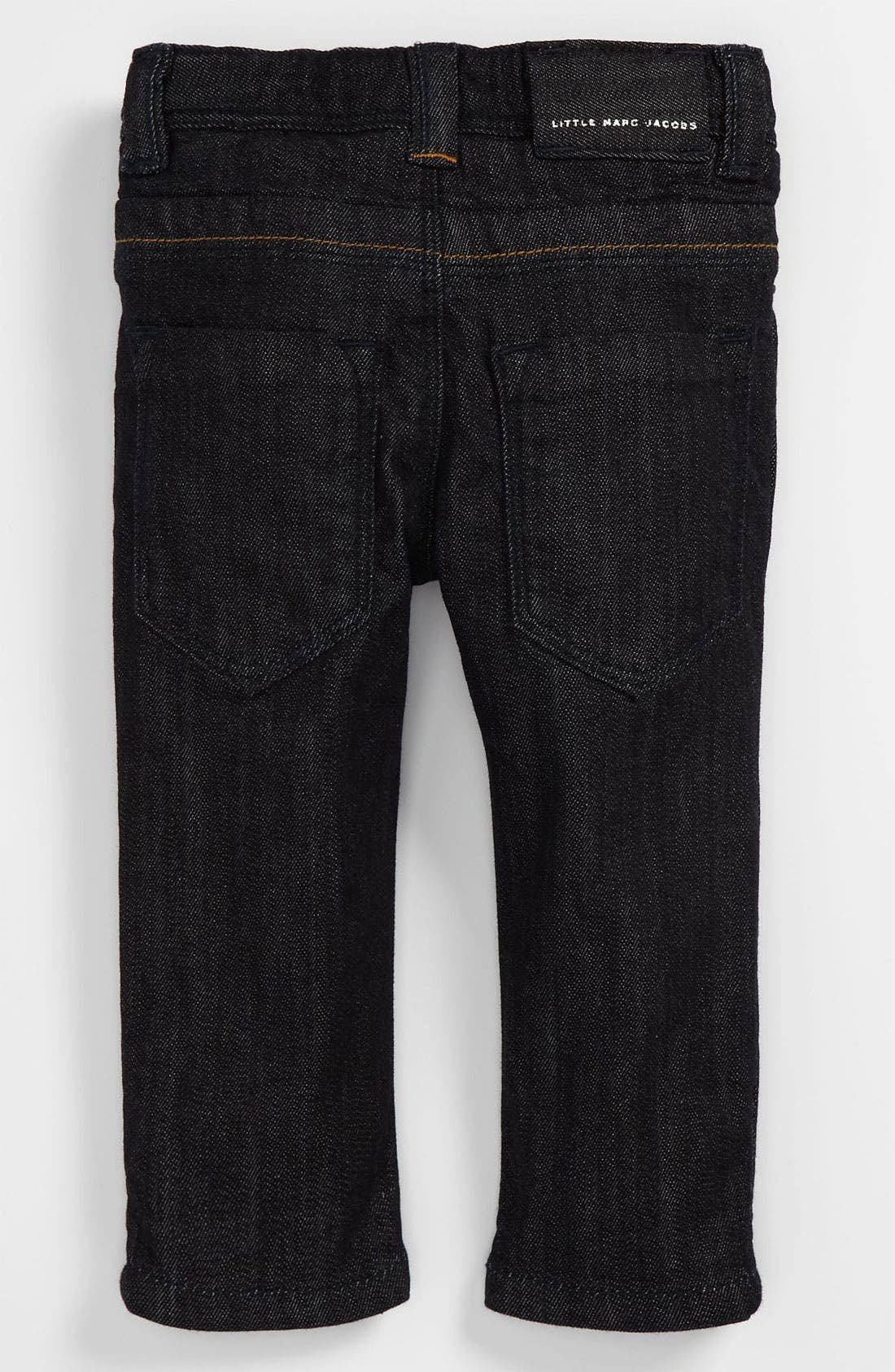 Alternate Image 1 Selected - LITTLE MARC JACOBS Denim Pants (Baby)