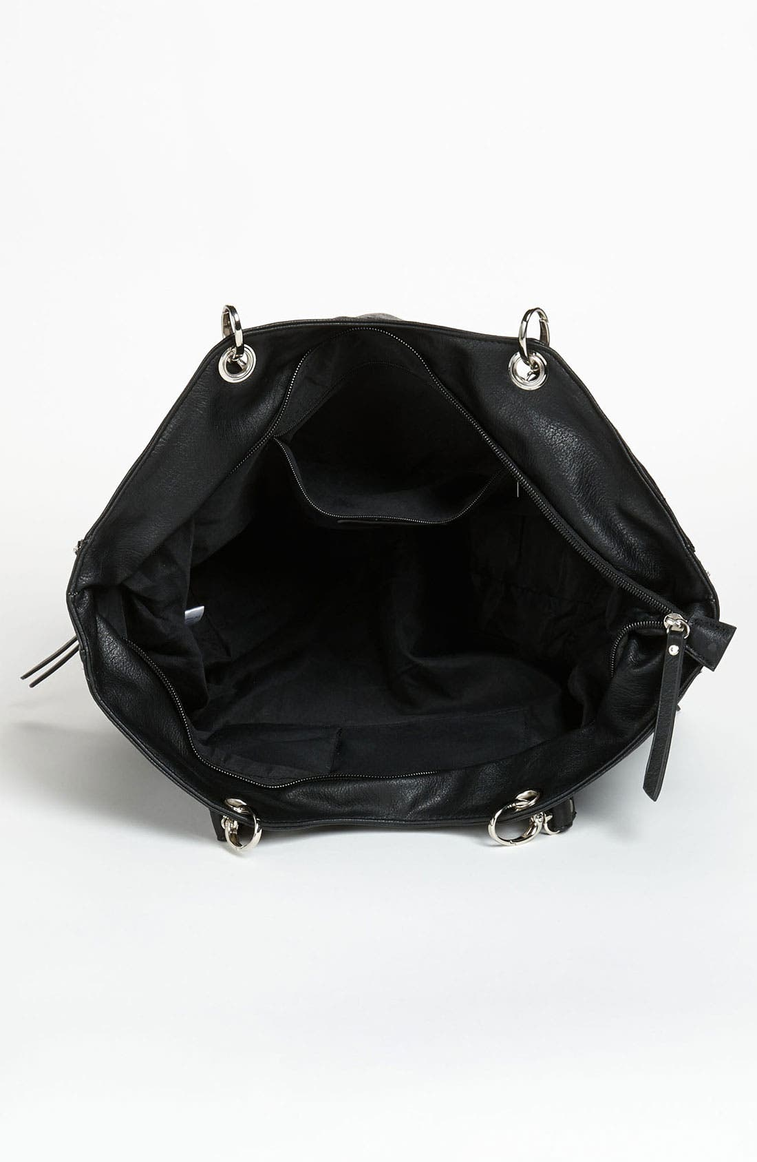 Alternate Image 3  - Cesca Chain Trim Expandable Tote (Online Exclusive)