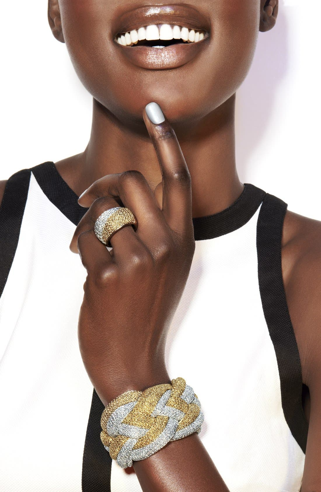 Alternate Image 3  - Adami & Martucci 'Mesh' Two Tone Ring (Nordstrom Exclusive)