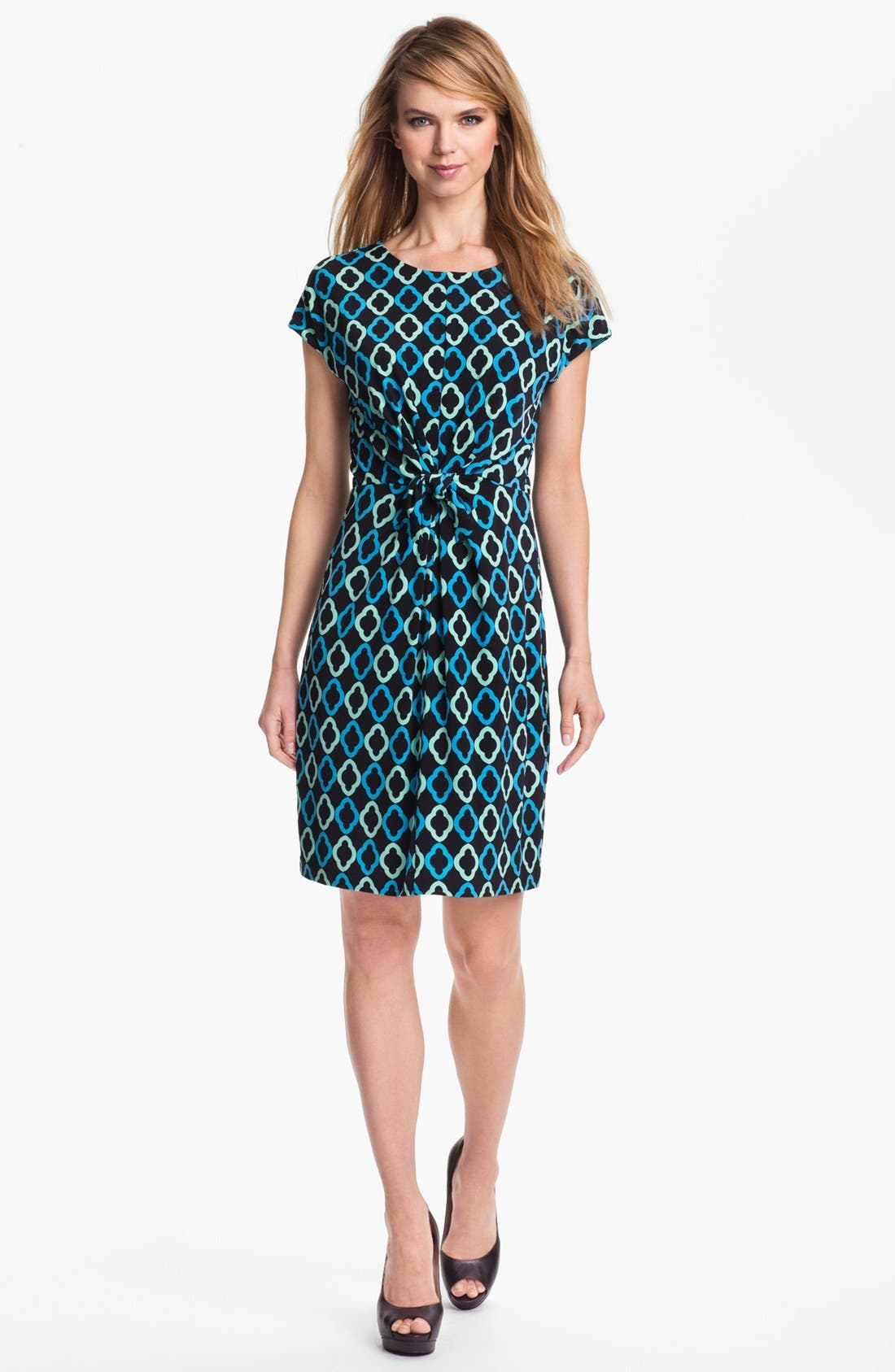 Alternate Image 1 Selected - Vince Camuto 'Seville Geo' Dress