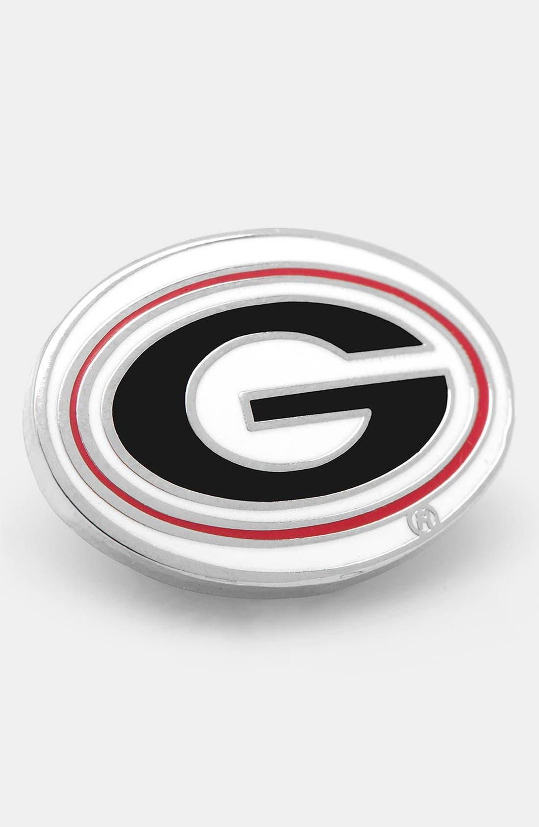 Main Image - Cufflinks, Inc. 'Georgia Bulldogs' Lapel Pin