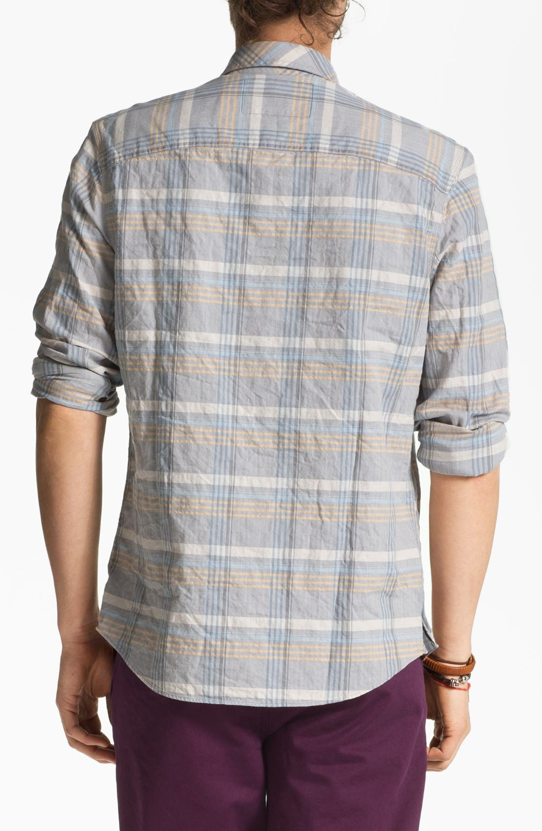 Alternate Image 2  - R44 Rogue Standard Issue 'Echo' Organic Cotton Flannel Shirt