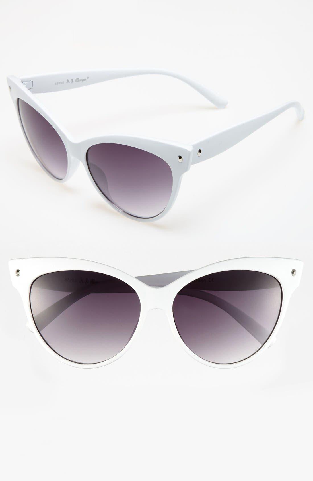 Main Image - A.J. Morgan 58mm 'Contessa' Sunglasses