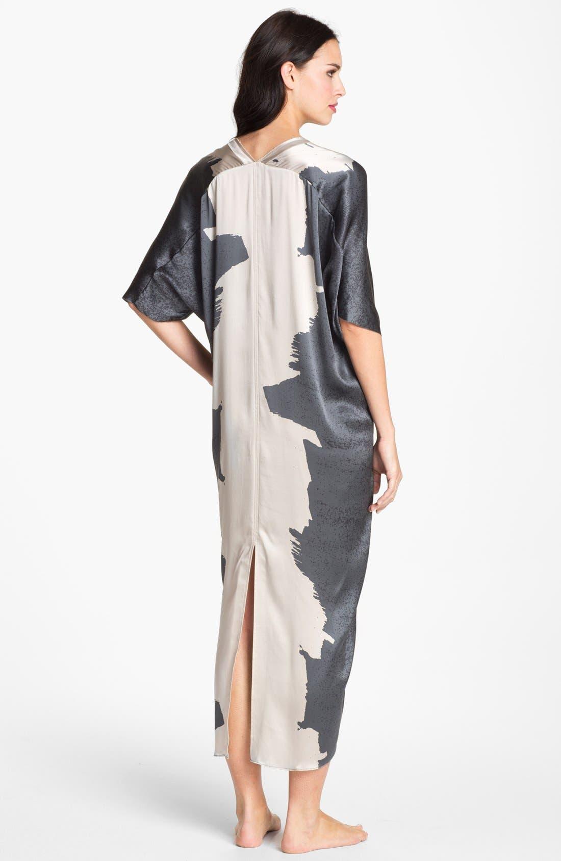 Alternate Image 2  - Donna Karan 'Glamour' Silk Caftan