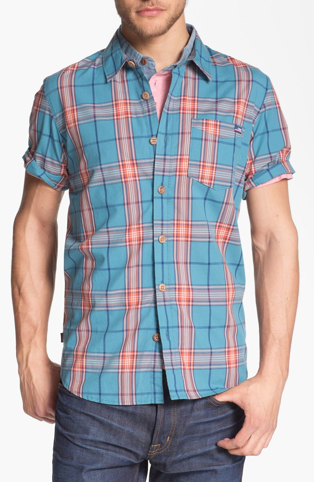 Alternate Image 1 Selected - Jack O'Neill 'Wellness' Short Sleeve Sport Shirt