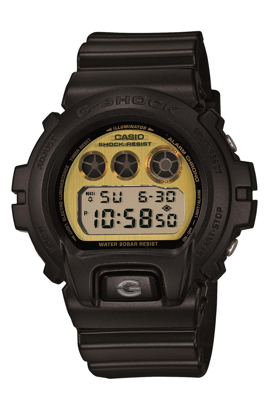 Main Image - G-Shock 'Polarized' Digital Watch, 53mm x 50mm