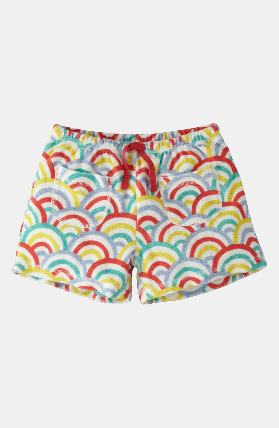Alternate Image 1 Selected - Mini Boden 'Towelling' Shorts (Toddler)