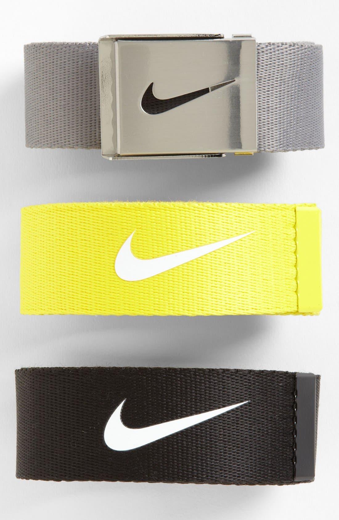 Alternate Image 2  - Nike 'Tech Essentials' Web Belt (3-Pack)